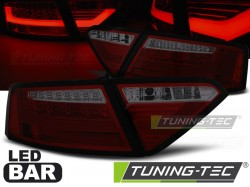 AUDI A5 07-06.11 RED SMOKE LED BAR