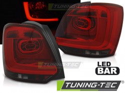 VW POLO 09-13 RED SMOKE LED BAR