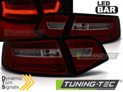 AUDI A6 08-11 SEDAN RED SMOKE LED BAR SEQ