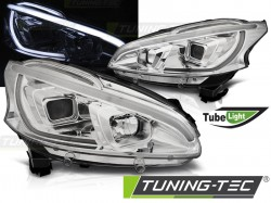 PEUGEOT 208 4.12-06.15 TUBE LIGHT CHROME