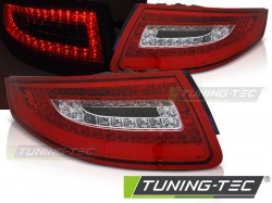 PORSCHE 911 997 04-09 RED WHITE LED
