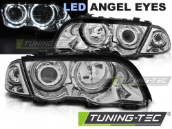 BMW E46 05.98-08.01 S/T ANGEL EYES LED CHROME