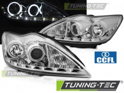 FORD FOCUS II 02.08-10 ANGEL EYES CCFL CHROME
